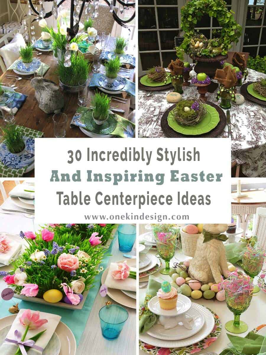 inspiring easter table centerpiece ideas 00 1 kindesign - Centerpiece Ideas