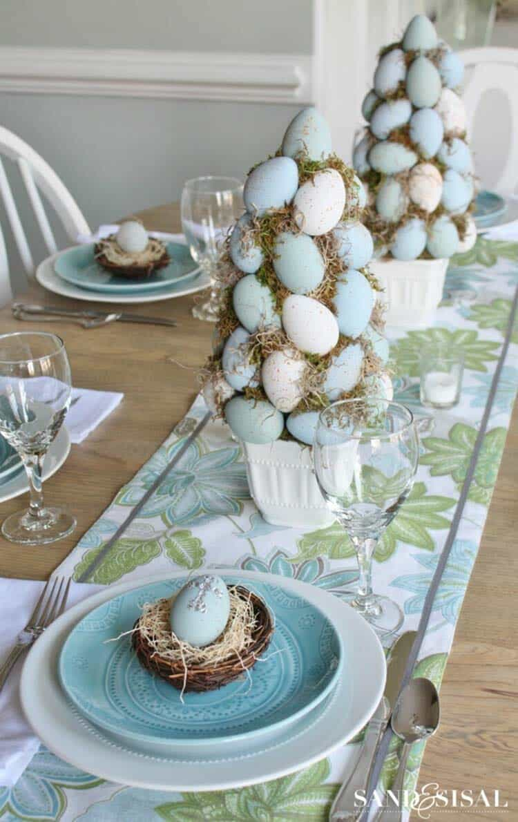 Inspiring Easter Table Centerpiece Ideas 01 1 Kindesign