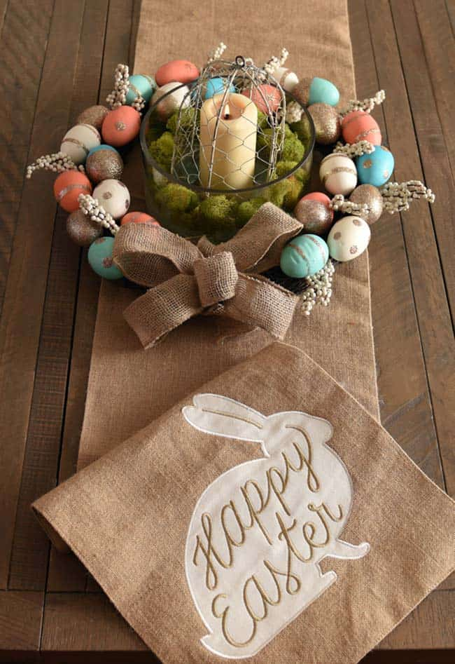 Inspiring Easter Table Centerpiece Ideas-13-1 Kindesign