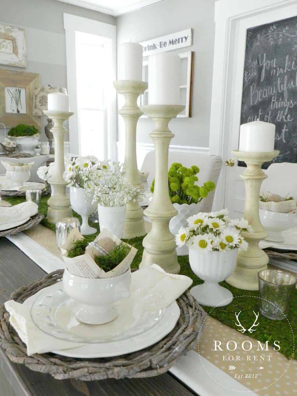 Inspiring Easter Table Centerpiece Ideas-15-1 Kindesign