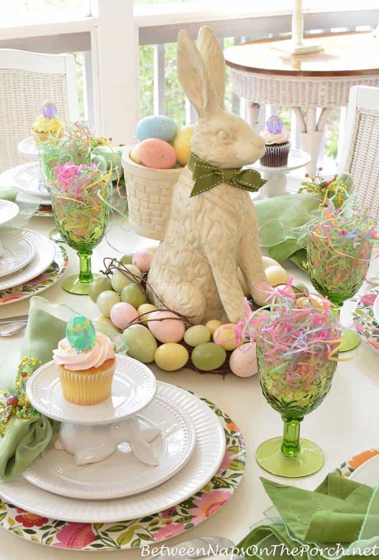 Inspiring Easter Table Centerpiece Ideas-18-1 Kindesign