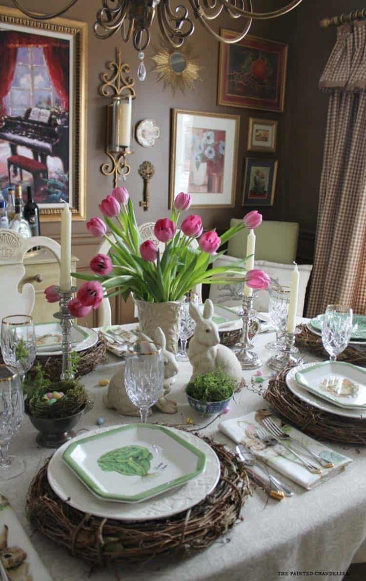 easter table decorations 30 incredibly stylish and inspiring easter table 31704