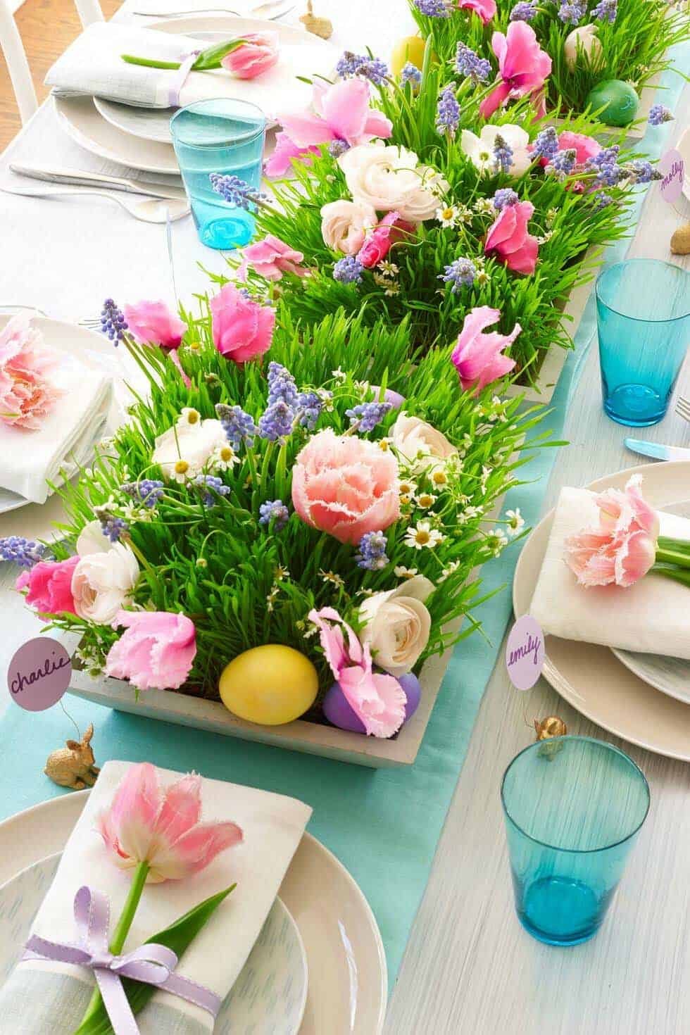 Inspiring Easter Table Centerpiece Ideas-22-1 Kindesign