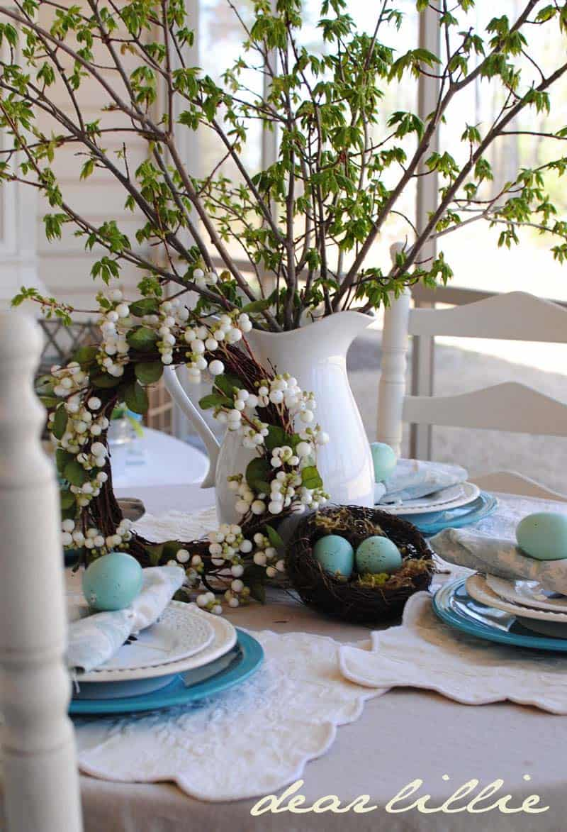 Inspiring Easter Table Centerpiece Ideas-24-1 Kindesign