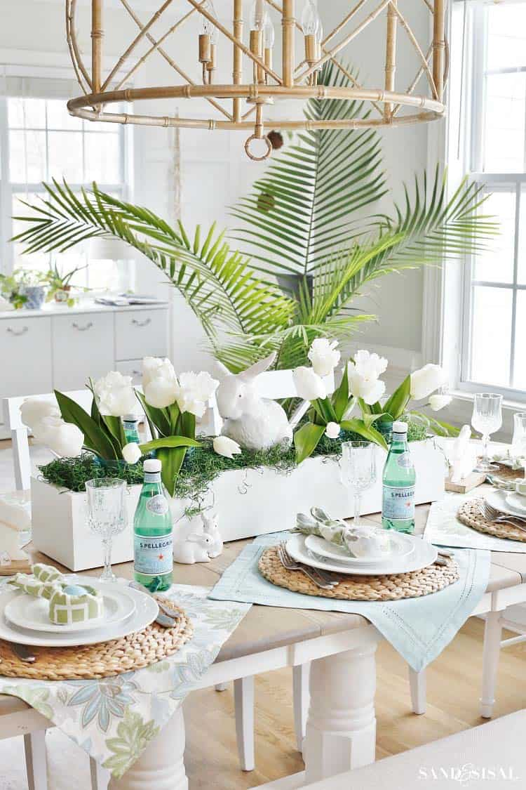 31 Incredibly Stylish And Inspiring Easter Table Centerpiece Ideas