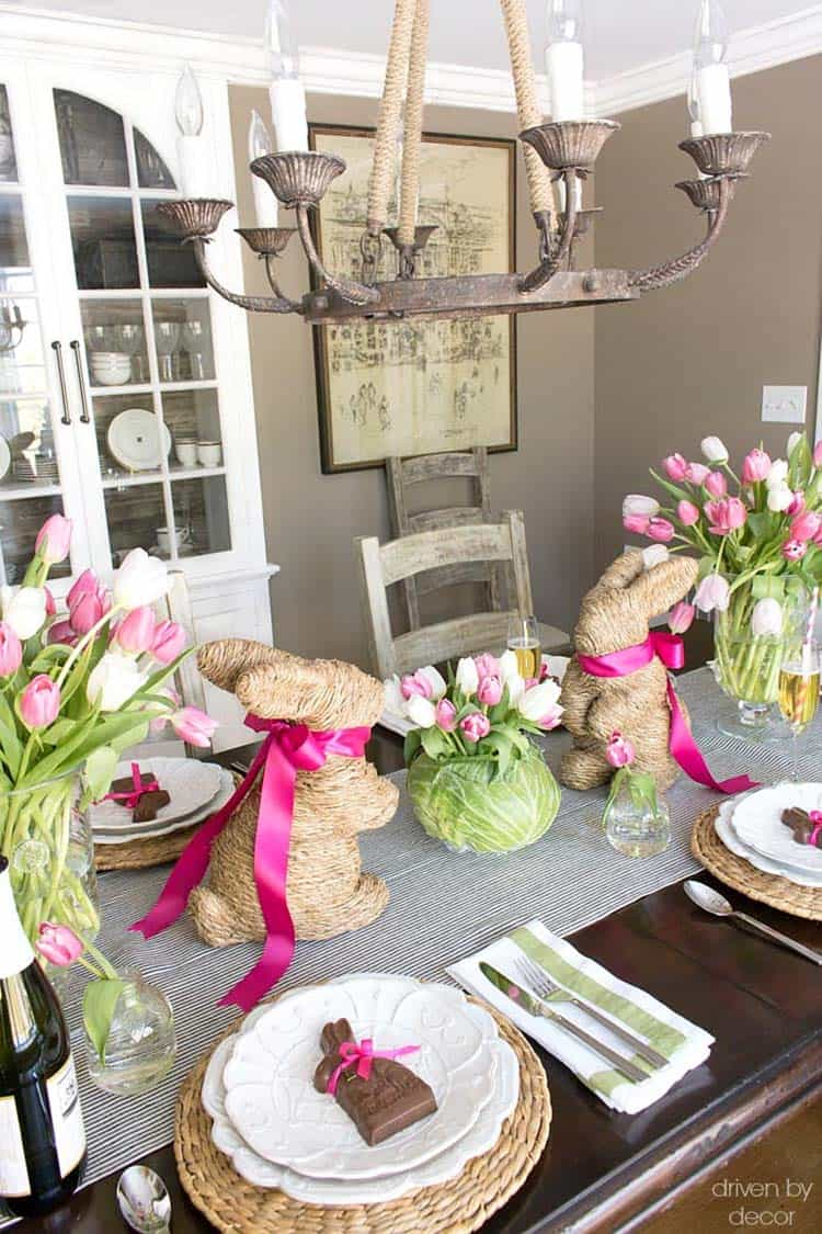 Inspiring Easter Table Centerpiece Ideas-28-1 Kindesign