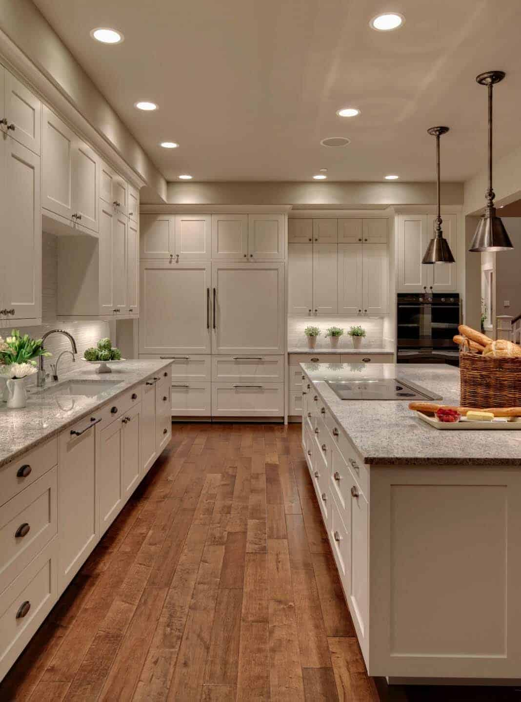 30 Beautiful And Inspiring Light Filled Kitchens With White Countertops