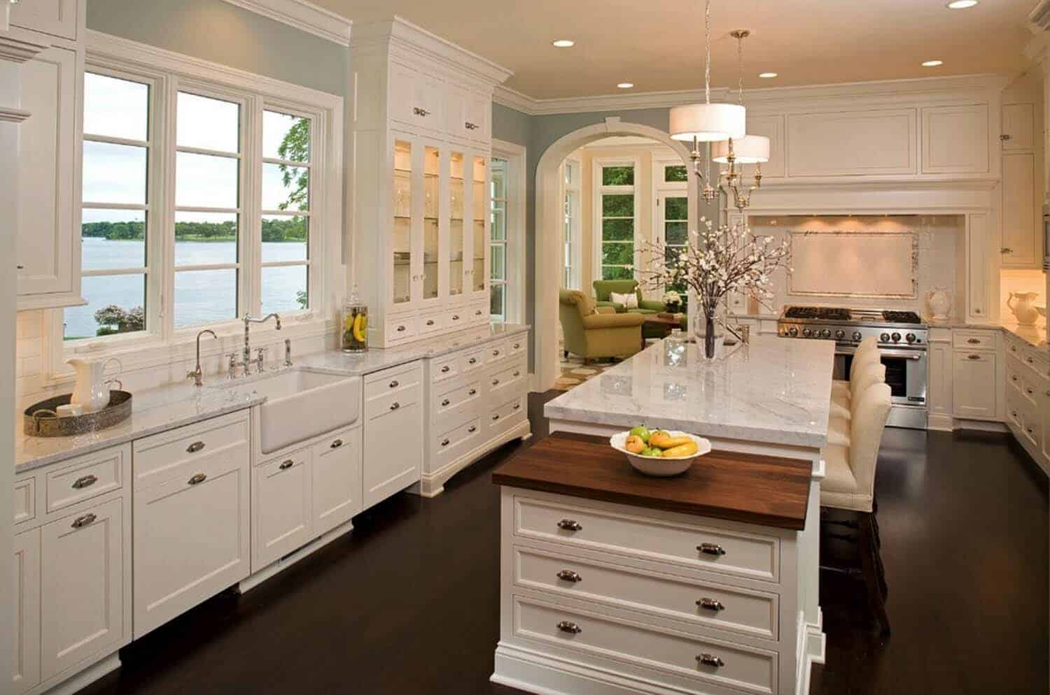 Light Airy Kitchen
