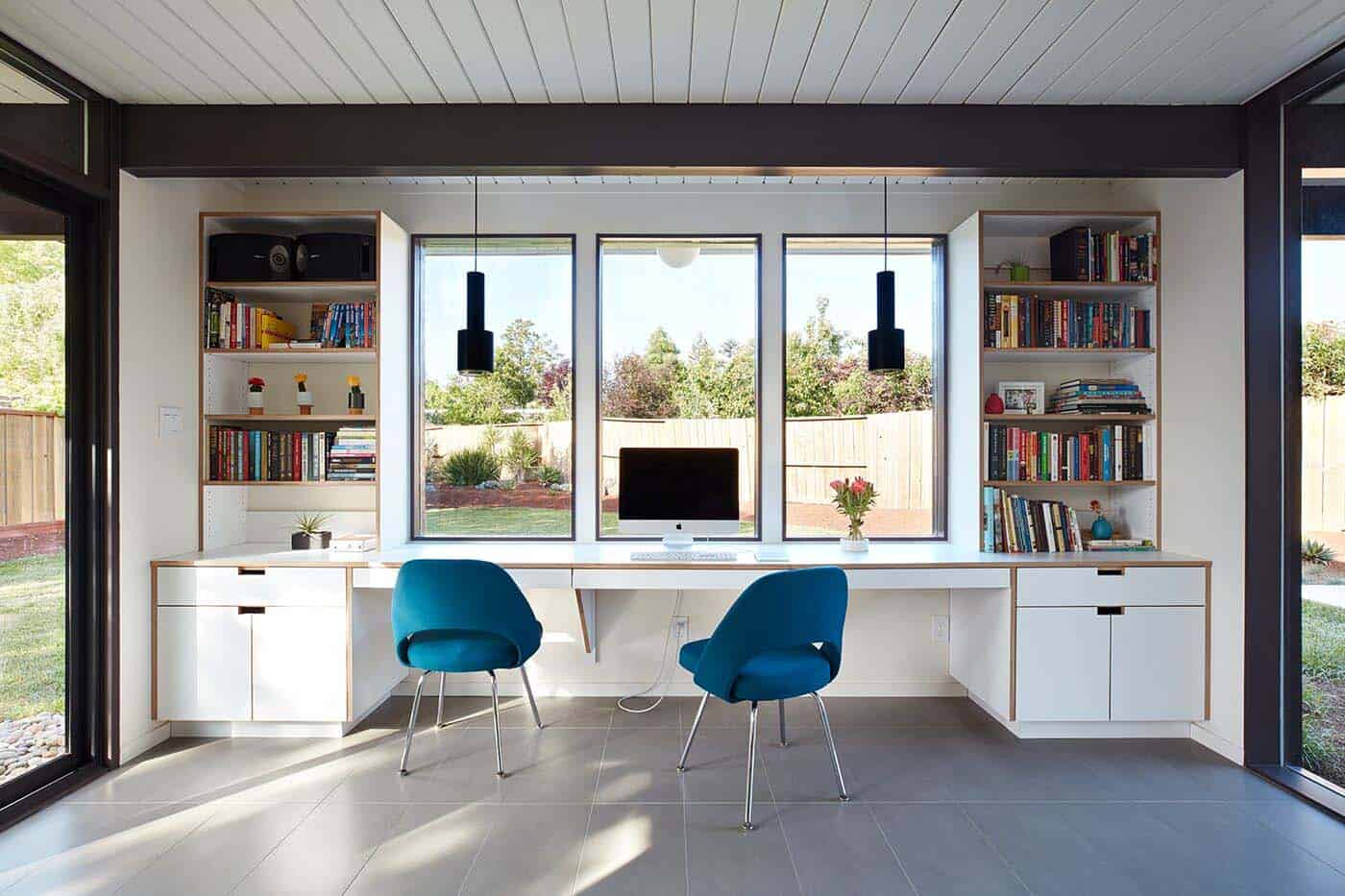 Mid-Century Modern Eichler Addition Remodel-Klopf Architecture-04-1 Kindesign