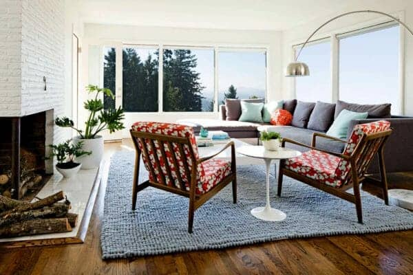 featured posts image for 1950s Ranch house renovation in Oregon offers delightful new layout
