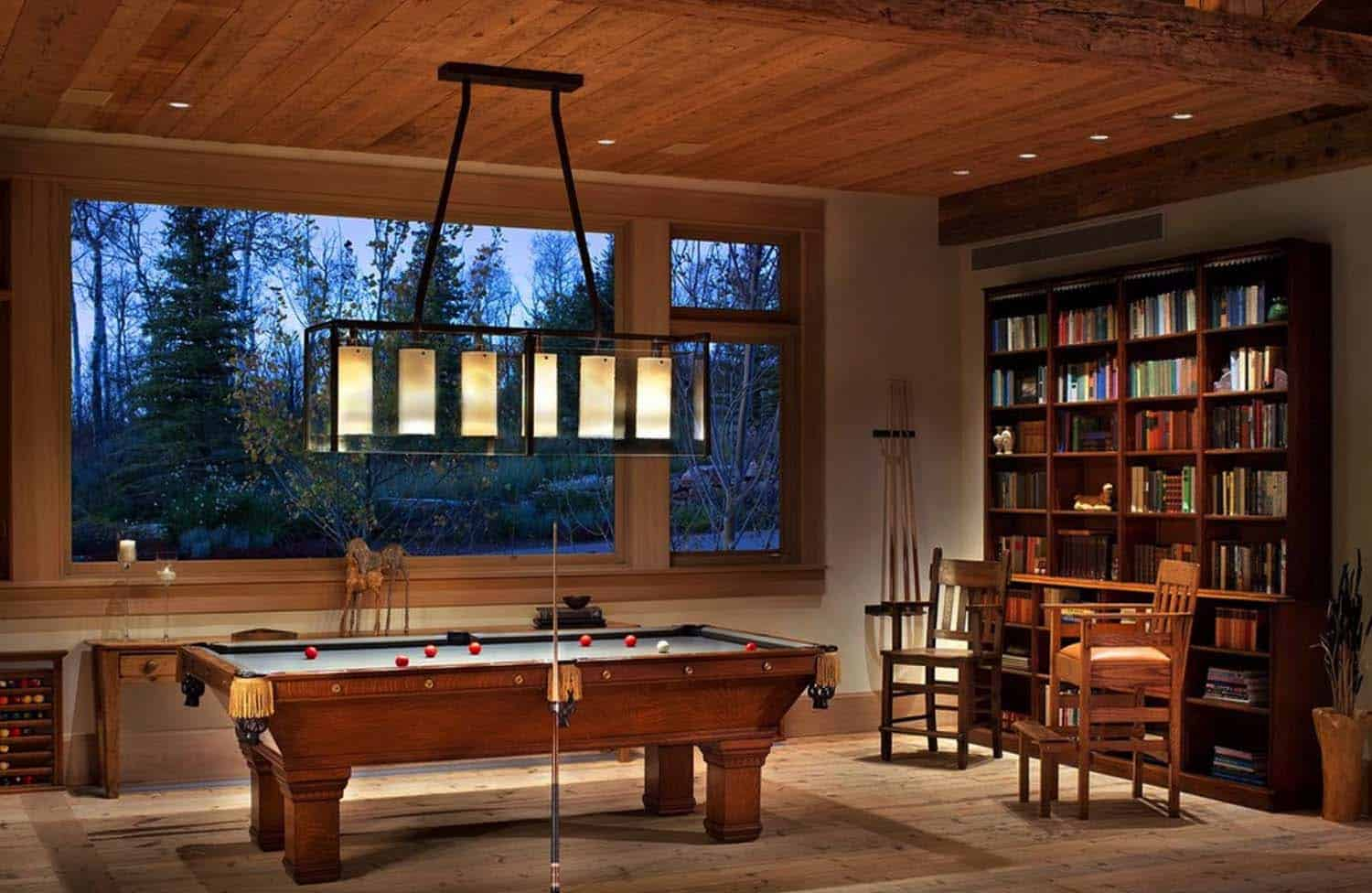 Rustic Lakeside Retreat-Game Room