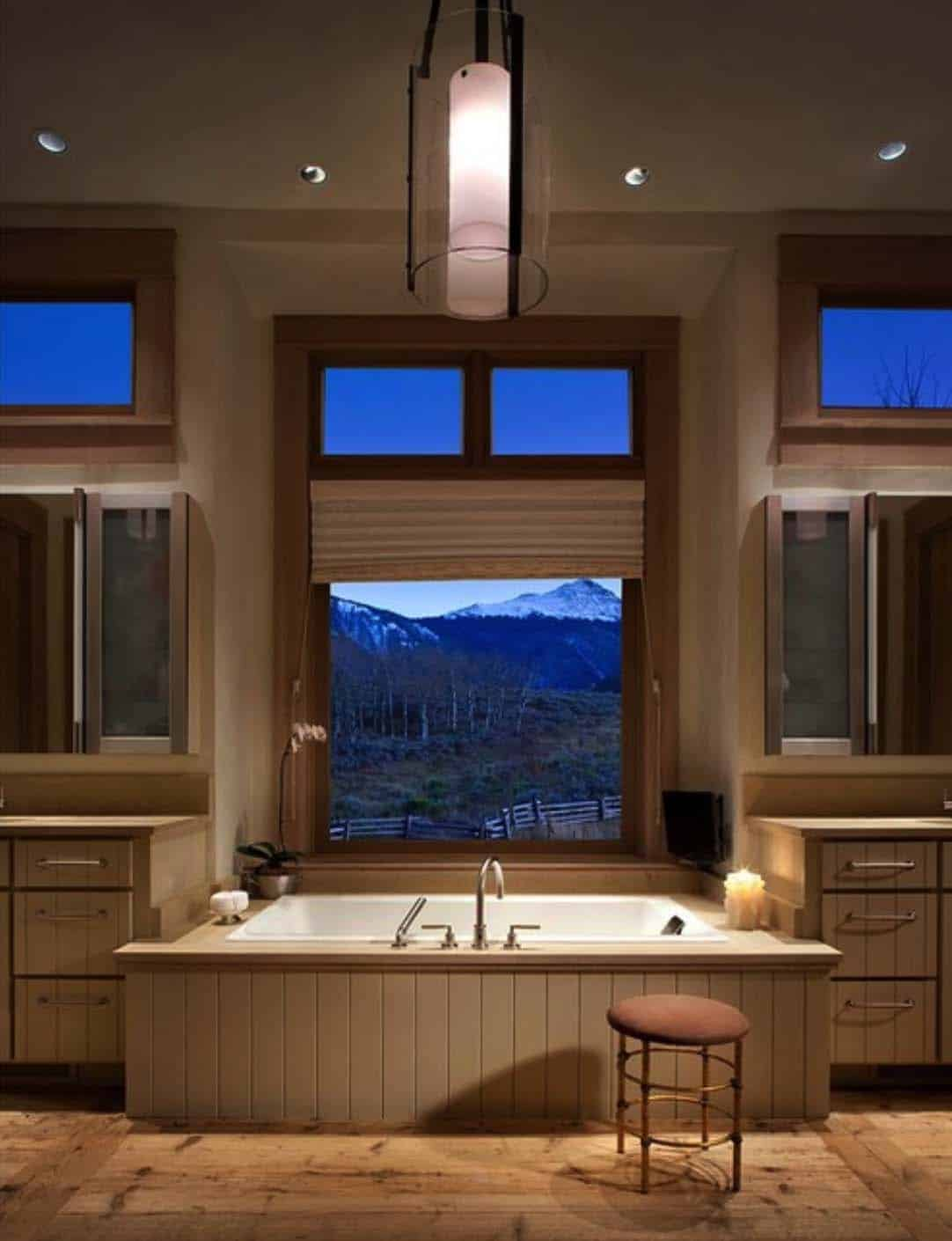 Rustic Lakeside Retreat-Bathroom