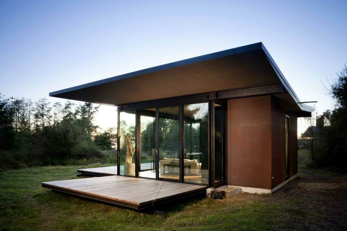 Tiny Modern Cabin-Olson Kundig Architects-01-1 Kindesign