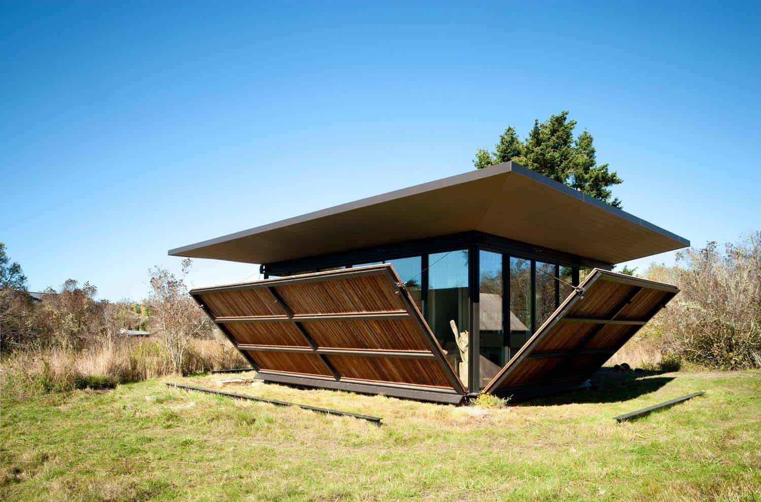 Tiny Modern Cabin-Olson Kundig Architects-05-1 Kindesign