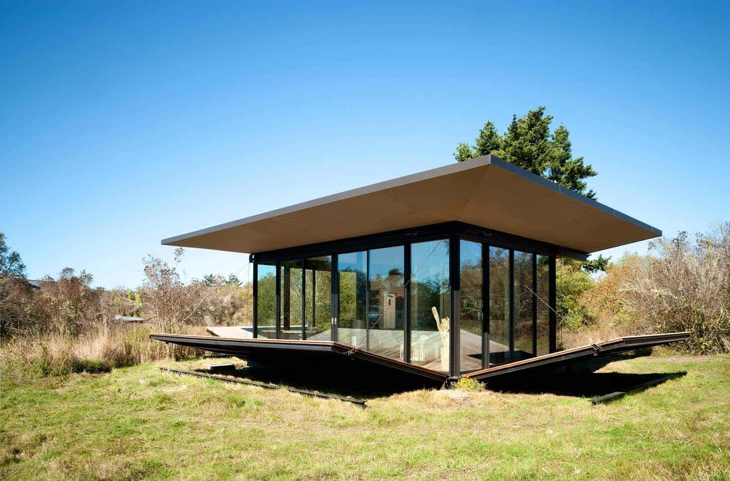 Tiny Modern Cabin-Olson Kundig Architects-06-1 Kindesign