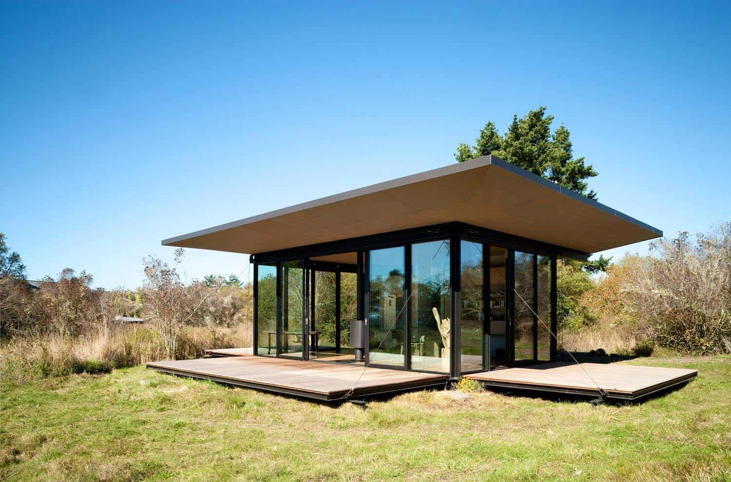 Tiny Modern Cabin-Olson Kundig Architects-07-1 Kindesign