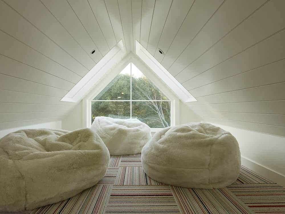 contemporary attic