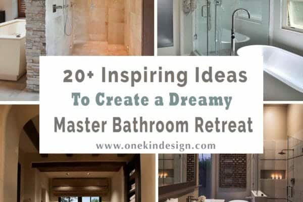 featured posts image for 20+ Inspiring ideas to create a dreamy master bathroom retreat