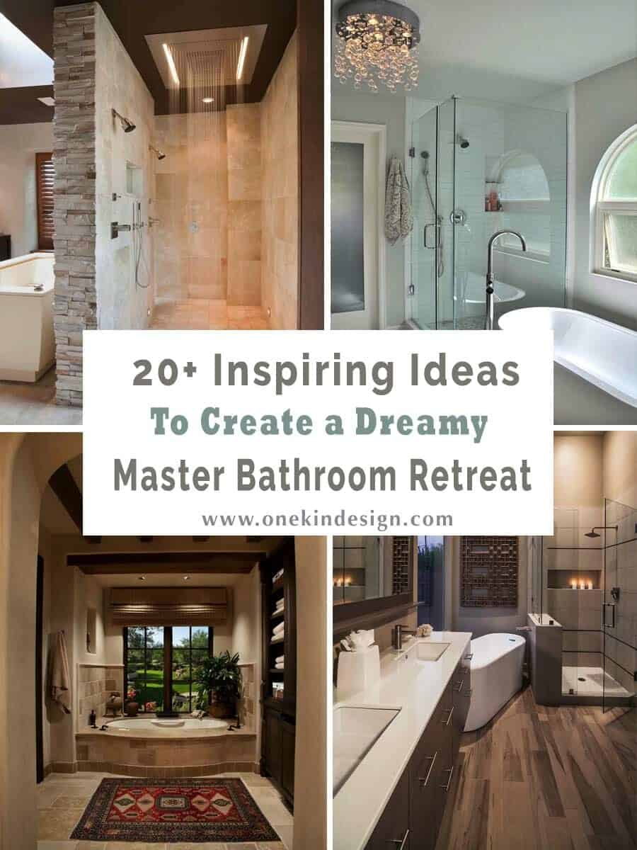 master bathroom retreat