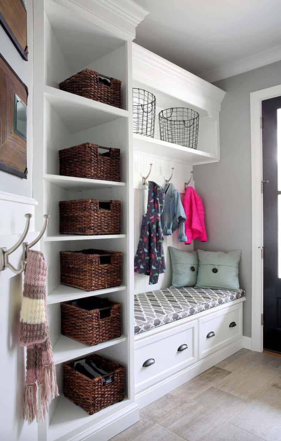 30 Fantastic Mudroom Ideas Offering Amazing Storage Solutions