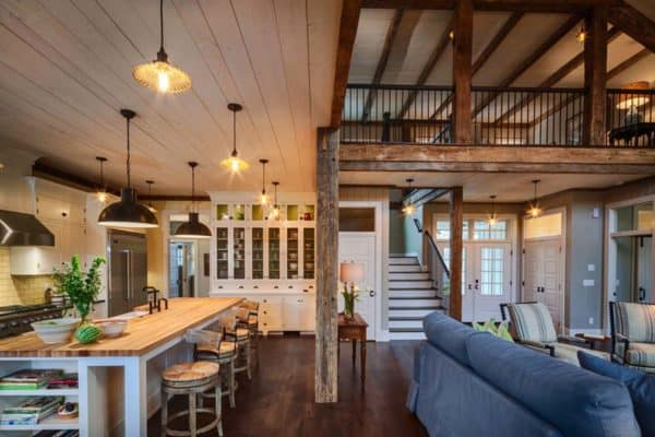 featured posts image for Inviting farmhouse style home surrounded by forest in Wisconsin
