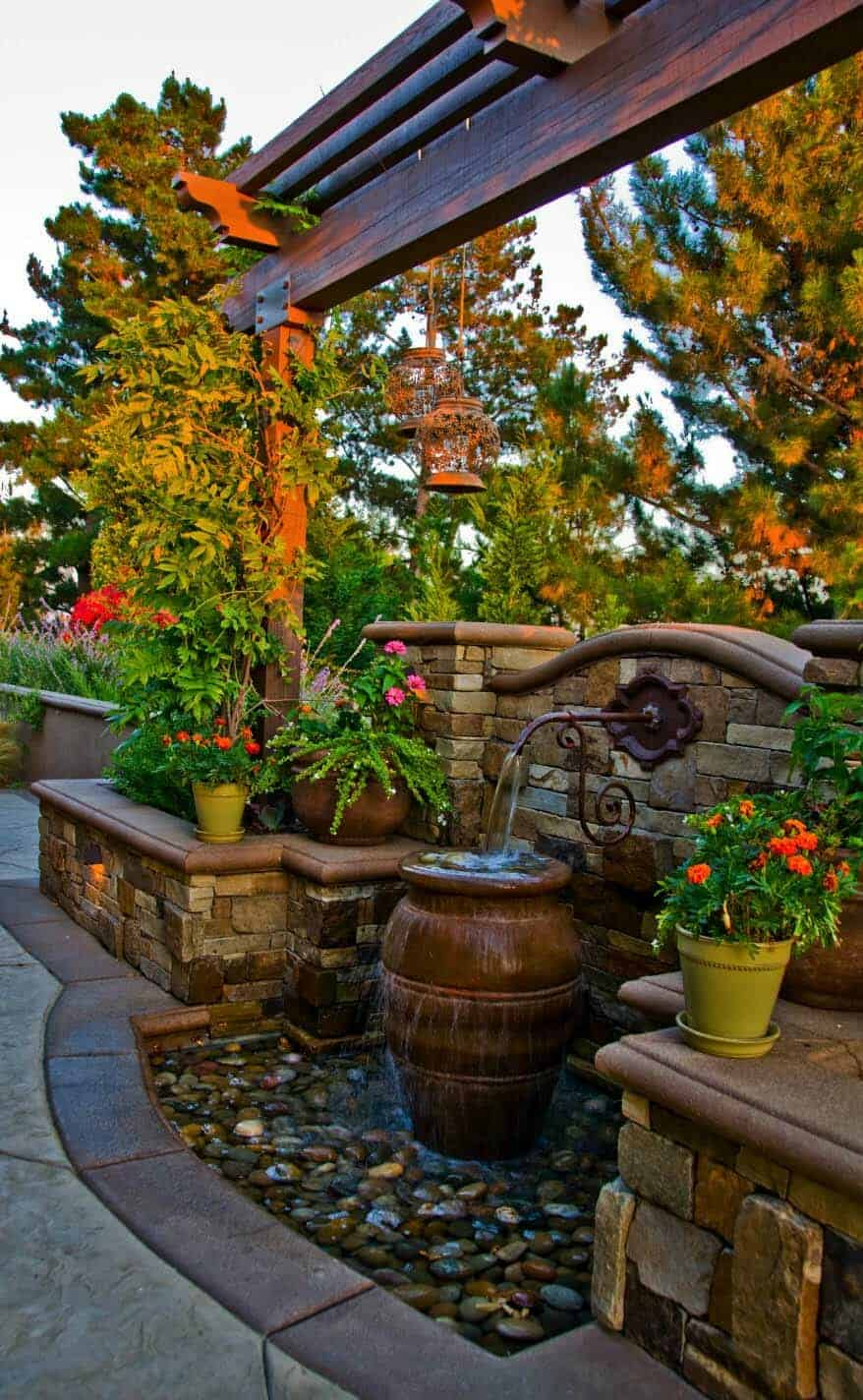 23 Inspiring outdoor garden fountains to add tranquility to ... on rustic gardening, garden fountains, beautiful backyard fountains, classic backyard fountains, tropical backyard fountains, modern backyard fountains, unique backyard fountains, elegant backyard fountains, large backyard fountains, wood backyard fountains, small backyard fountains, bird baths and fountains,