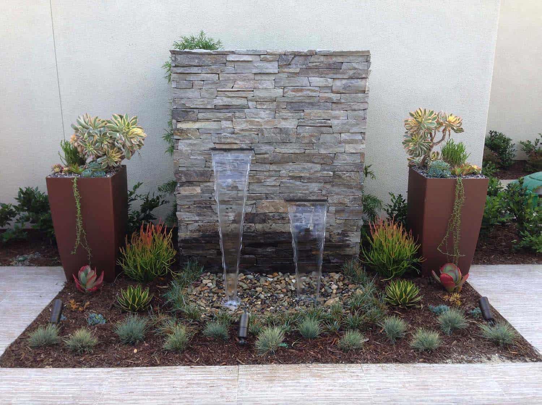 Outdoor Garden Fountain Idea