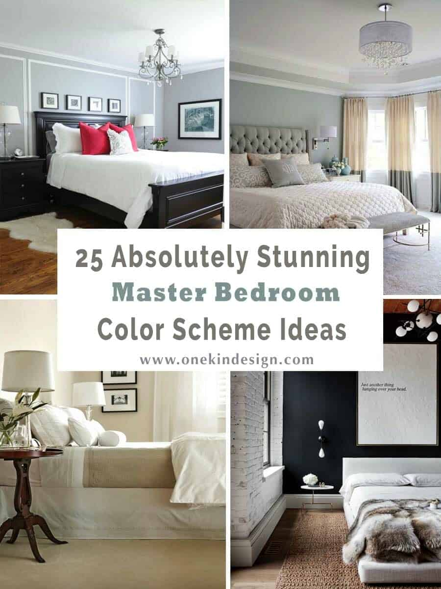 Awesome 25 Absolutely Stunning Master Bedroom Color Scheme Ideas Interior Design Ideas Helimdqseriescom