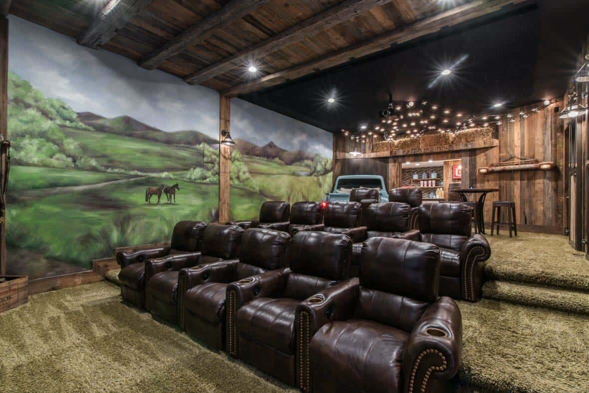rustic-home-movie-theater