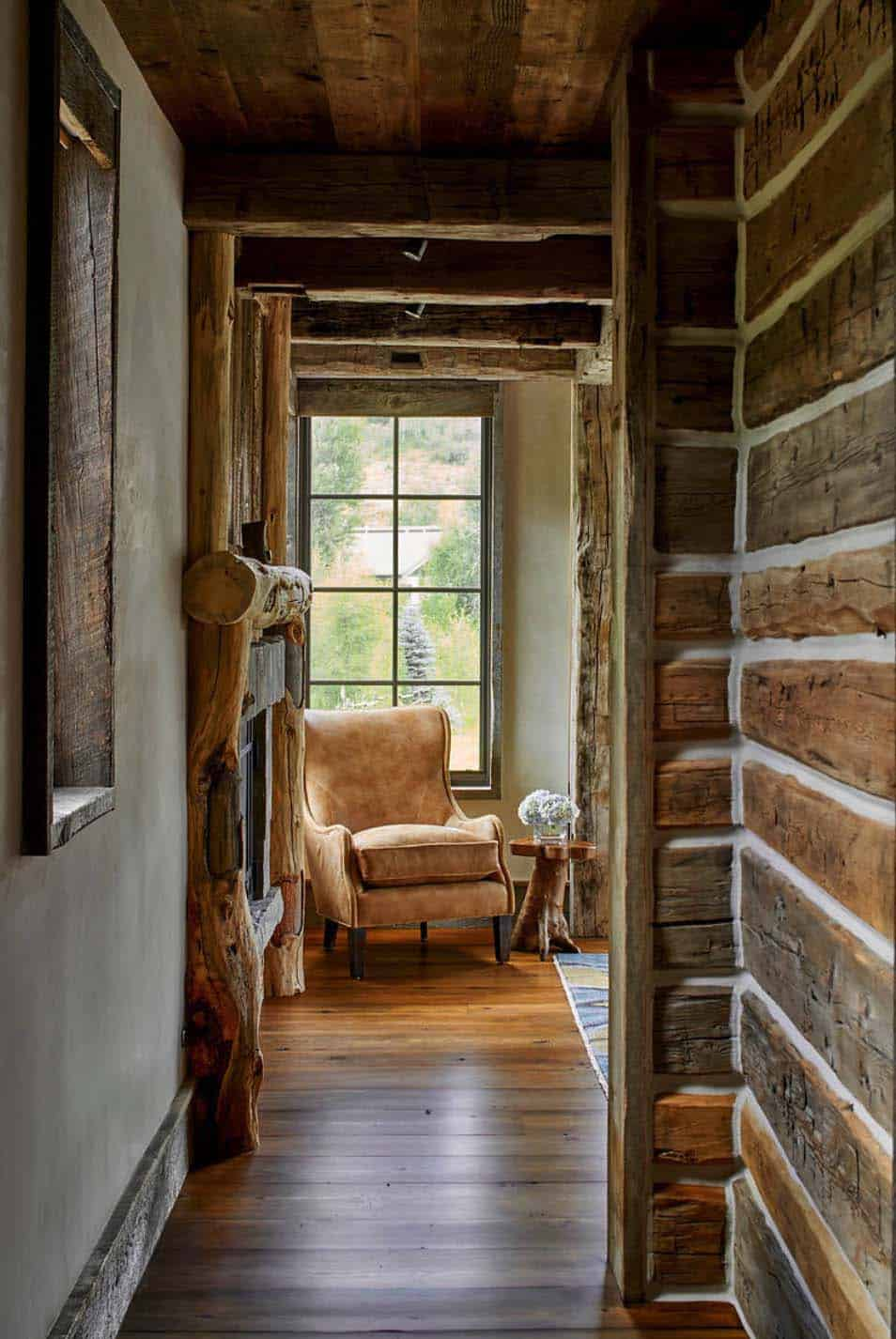 rustic-hallway
