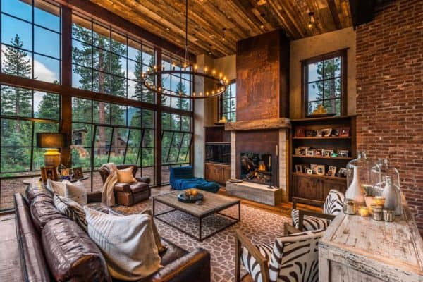 featured posts image for Gorgeous rustic wooded retreat with indoor-outdoor living in Martis Camp