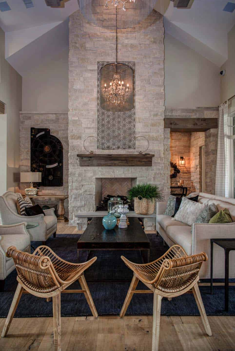 farmhouse-transitional-living-room
