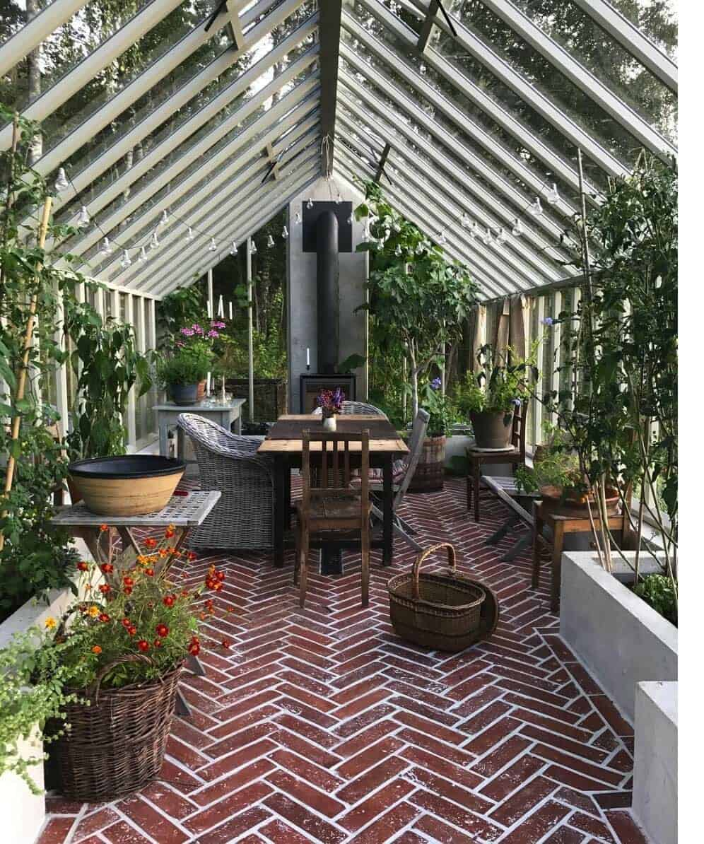 25+ Amazing Conservatory Greenhouse Ideas For Indoor