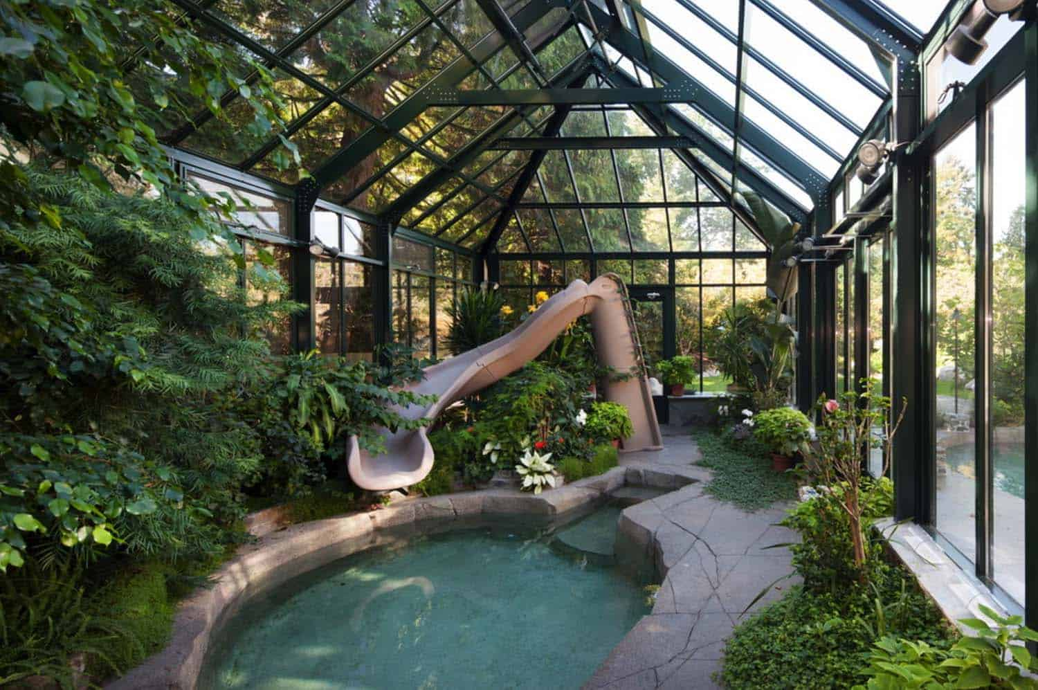 25+ Amazing conservatory greenhouse ideas for indoor ... on Backyard House Ideas id=63711