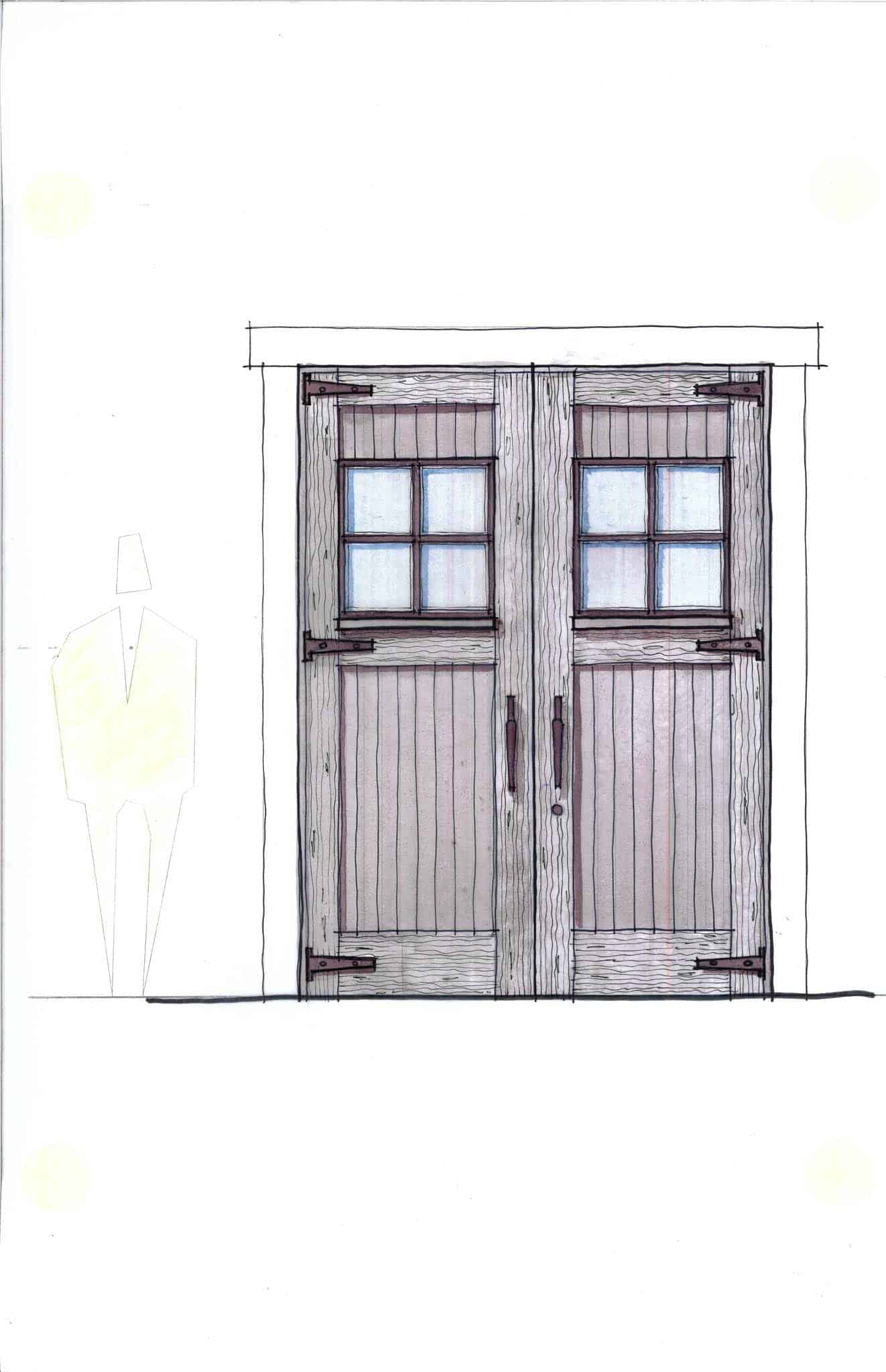 barn-entry-door-sketch