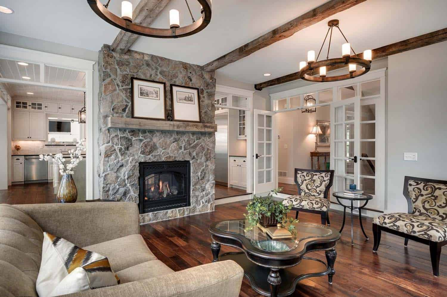 Beautifully Designed Cottage Style Home Nestled Above The St Croix River
