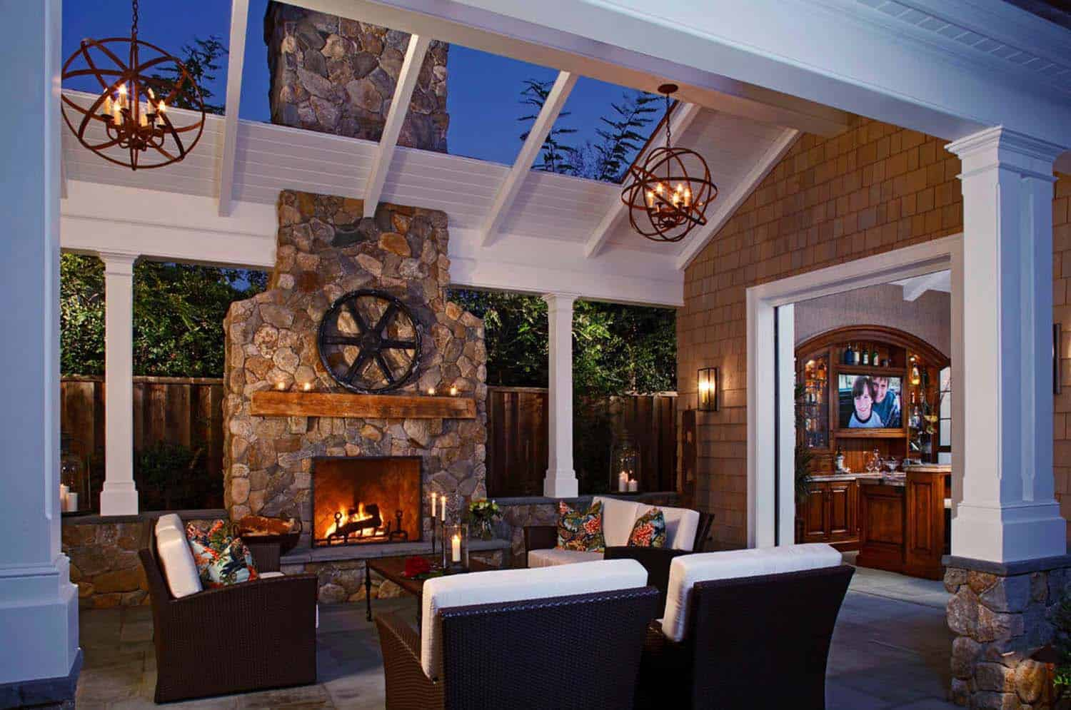 30+ Irresistible outdoor fireplace ideas that will leave ... on Outdoor Fireplaces Ideas id=25522