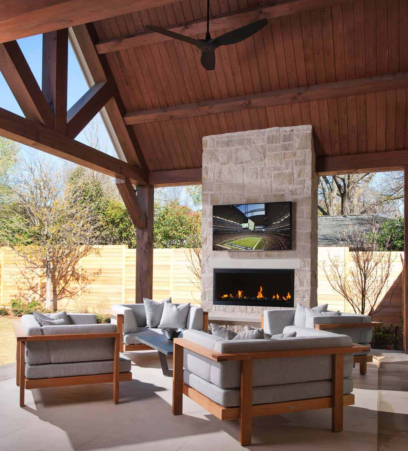 30+ Irresistible outdoor fireplace ideas that will leave ... on Outdoor Fireplaces Ideas id=64360