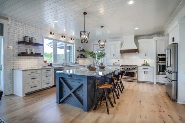 featured posts image for Modern eclectic farmhouse with delightful design features in Michigan