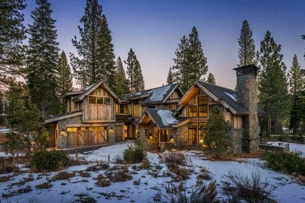 featured posts image for Mountain contemporary cabin boasts impressive details in Martis Camp