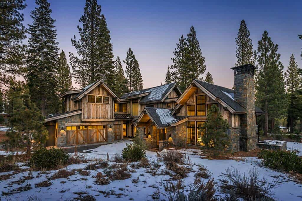 Mountain Contemporary Cabin Boasts Impressive Details In