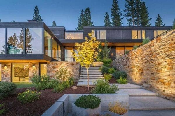 featured posts image for Radiant mountain modern home offers peaceful retreat in Martis Camp