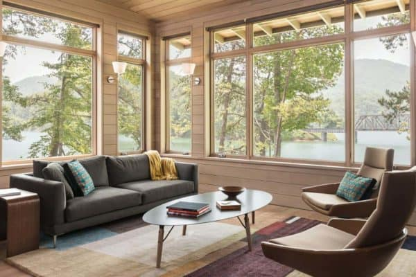 featured posts image for Mountain modern lake house nested in the Great Smoky Mountains