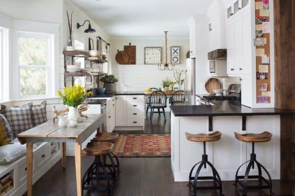 featured posts image for 35+ Amazingly creative and stylish farmhouse kitchen ideas
