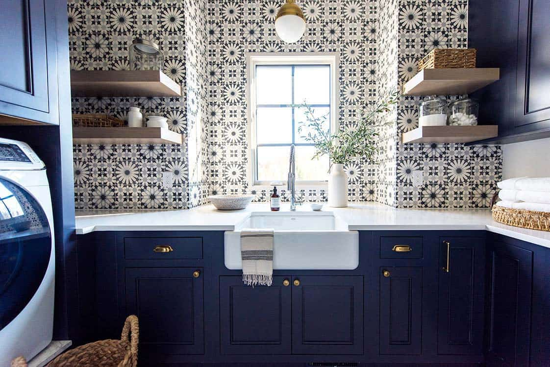 transitional-family-home-laundry-room