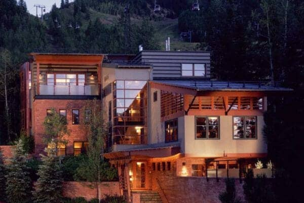 featured posts image for Gorgeous contemporary home nestled at the base of Aspen Mountain