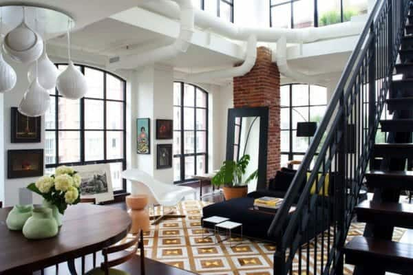 featured posts image for Luminous contemporary penthouse condo in Virginia with stylish interiors