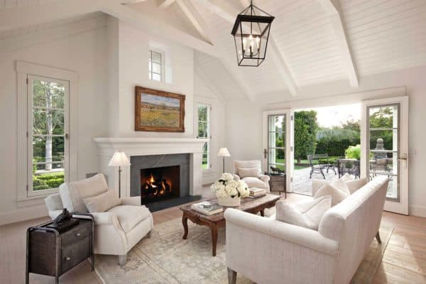 featured posts image for Inviting farmhouse style cottage in Montecito surrounded by lush gardens