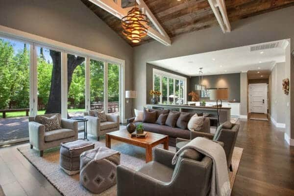 featured posts image for Farmhouse style home with industrial elements in Northern California