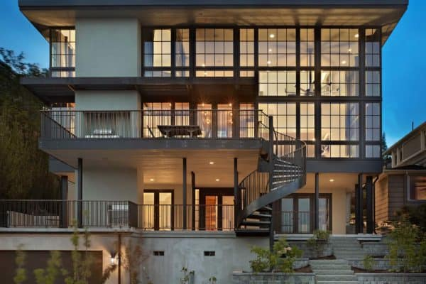 featured posts image for Industrial modernist home features extraordinary Seattle skyline views
